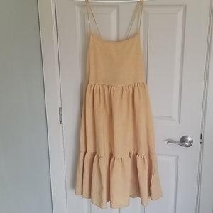 Pinkblush yellow summer dress